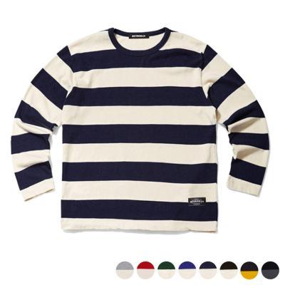 10s 보더 티셔츠_DFF1TS5500
