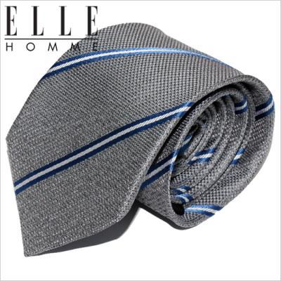 [ELLE HOMME] 엘르옴므 실크넥타이 - 클레이 그레이 7.5cm