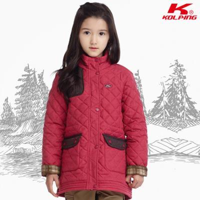 콜핑 겨울 아동 퀼팅자켓 파피(여아)_KMJ6645G