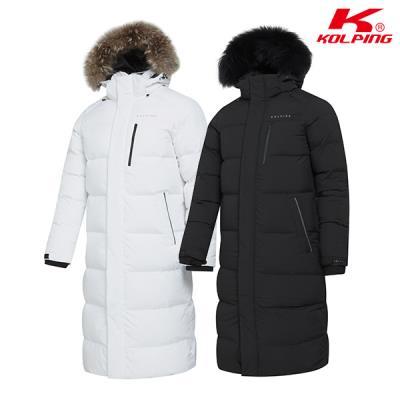 콜핑 공용 겨울 벤치코트 롱점퍼 달낫_KPO8511U