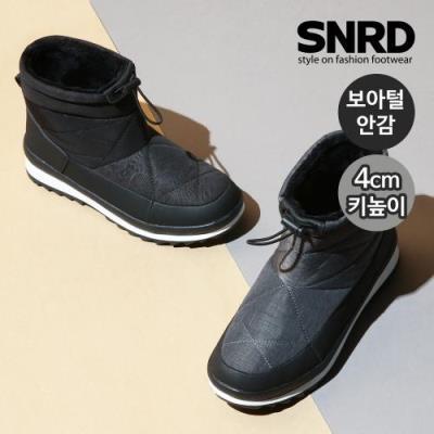 [SNRD] 여성 키높이 겨울부츠 방수방한 패딩부츠 털안감 SN575