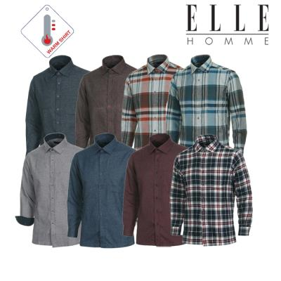 ▣엘르옴므▣ 가격인하 겨울 기모 레귤러핏 셔츠 8종 택 1