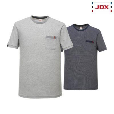 [JDX] 남성 자카드 라운드 티셔츠 2종 택1(X2PMTSM11)