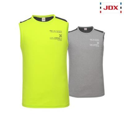 [JDX] 남성 여름 레터링프린트 등판블럭 슬리브리스 2종 택1 (X3PMTSM10)