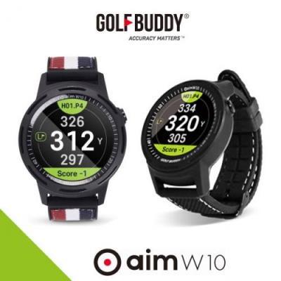 골프버디 2019 AIM W10 풀컬러 시계형 거리측정기