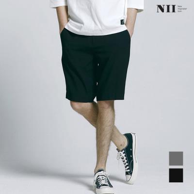 [NII] 남성 시크릿 히든밴딩 슬랙스 반바지_2NNXDSUM4211