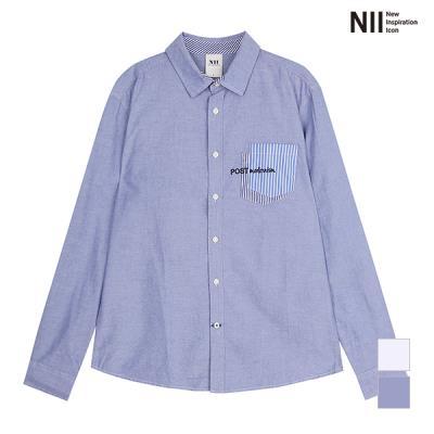 [NII] 남성 포켓 아트워크 셔츠_2NNXNLUS1321