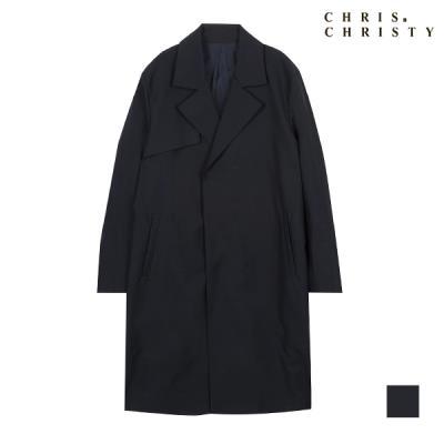 [CHRIS CHRISTY] 남성 반더블 스판 오버코트_KCXELTSC411