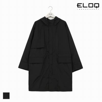 [ELOQ]남성 루즈핏 라인 배색 코트(B182MCT102M)