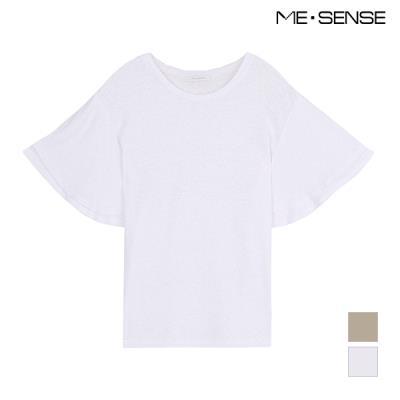 [미센스] 홀곁 소매 티셔츠_MA87TSP488Z