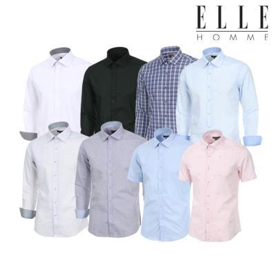 ▣엘르옴므 ▣ 남성셔츠 14종 택 1 긴팔반팔셔츠묶음