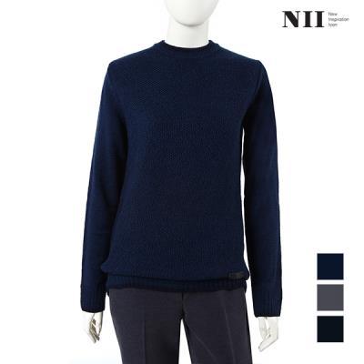 [NII] 공용 보카시 벌집조직 스웨터_2NNUBRSF8211