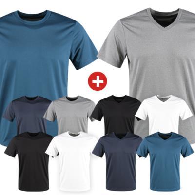 [굿딜] 아이다 라운드+브이넥 티셔츠 특가전 (단품,세트구성 선택)