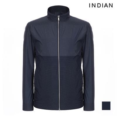 [INDIAN] 남성 컬러 배색 점퍼_MIGCLVM3221