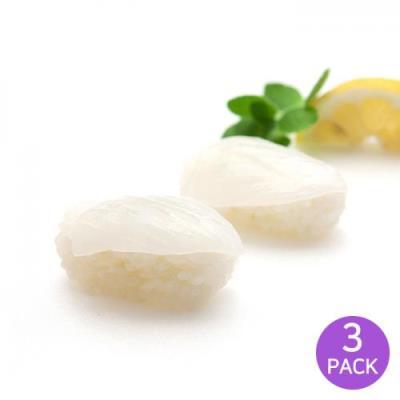 [2+1] [마칸] 초밥용 초갑오징어 특대 120g x 3팩 (총60미)