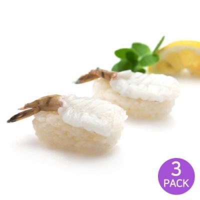 [2+1] [마칸] 초밥용 초청미 초새우 160g x 3팩 (총60미)