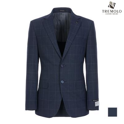 [TREMOLO] 스트레치 울 체크 싱글 자켓_TGNGASM2251