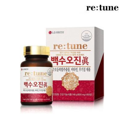리튠 백수오 진 갱년기 여성 건강 복합추출물(60정/1개월)