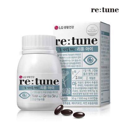 리튠 아이 500mg x 60캡슐 눈 건강