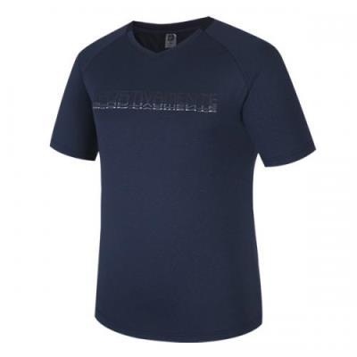 [로또스포츠]남성 어슬레저 브이넥 티셔츠_LABM-TSV37_NV