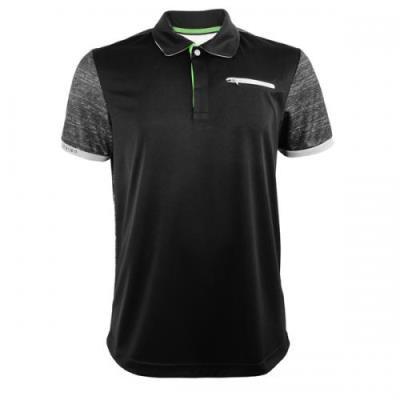[로또스포츠]남성 MULTI 폴리스판 PK 티셔츠_IQBM-TSP43_BK