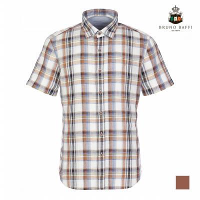 [BRUNO BAFFI] 오렌지 데코 포인트 셔츠_MAUNSTM4231