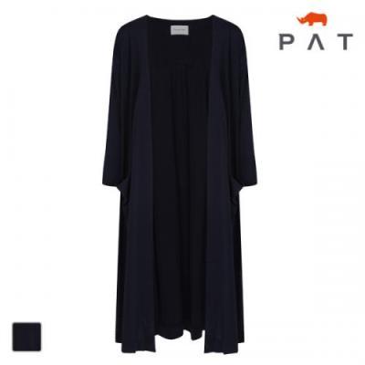PAT 여성 불가리 롱 저지 가디건-QE45001