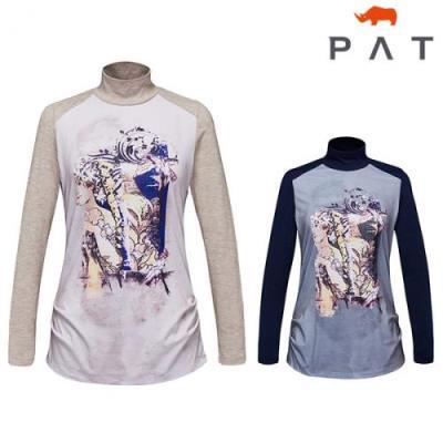 PAT 원포인트프린트 반목 티셔츠-1B25403