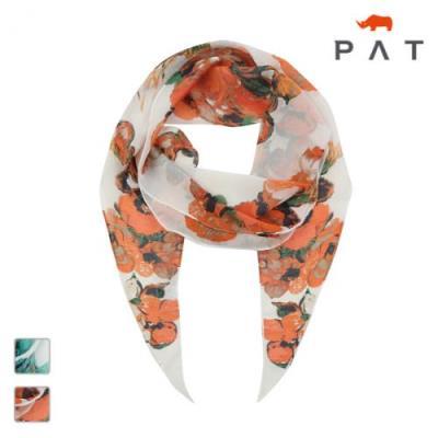 PAT 컬러 플라워 스카프-NE27708