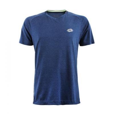 [로또스포츠]남성 MULTI 폴리스판 브이넥 티셔츠_IQBM-TSV37_NV