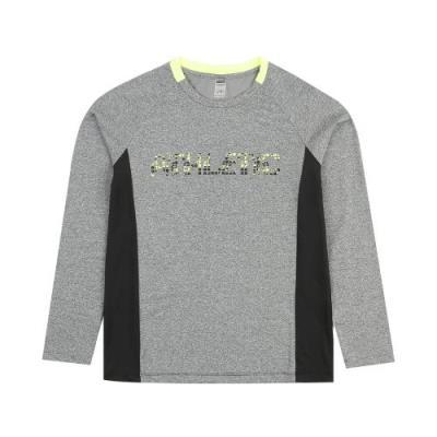 [로또스포츠]아동 그래픽 프린트 배색 티셔츠_KSAM-TLR61_ME
