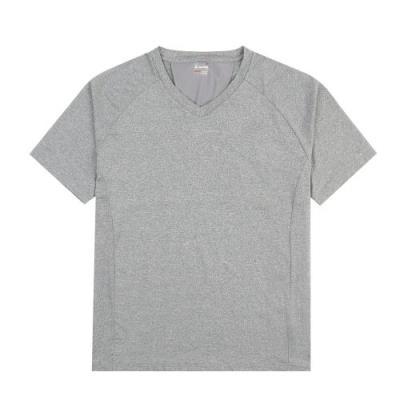 [로또스포츠]남성 브이넥 등판배색 반팔티셔츠_LQBM-TSV35_ME