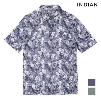 [INDIAN] 트로피컬 프린트 티셔츠_MITASUM4201