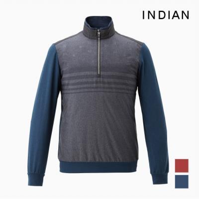 [INDIAN] 하프터틀 이중집업 아우터형 티셔츠_MIGALUF8451