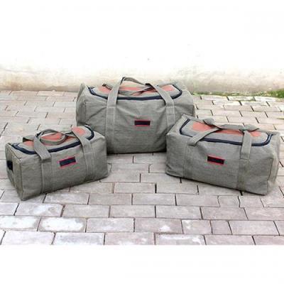 캔버라캔버스 캠핑 여행 대용량 가방(대형)