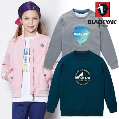 [굿딜][블랙야크키즈]가을맞이 아동용 티셔츠 최대 83%~!긴팔티/맨투맨/원피스 30종 택1