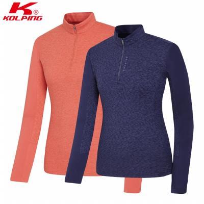 콜핑 여성 겨울 집업티셔츠 1804TK454W
