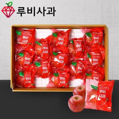 [루비사과] 프리미엄 정품 세척사과 선물세트 3kg (10~12과) 실중량