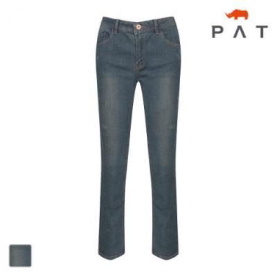 PAT 여성 워싱 슬림핏 데님-QE62602