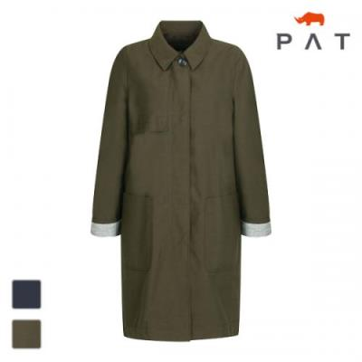 PAT 여성 슬림 박시 싱글 코트-1C61102