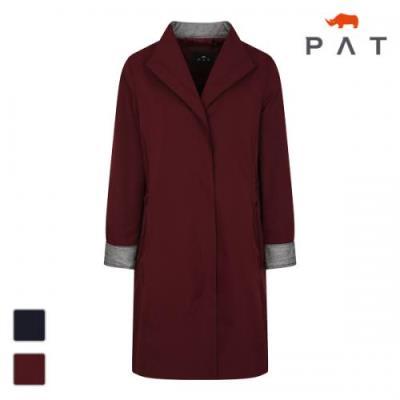 PAT 여성 변형카라 스트링 코트-1C61101