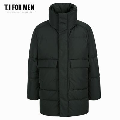 (T.I FOR MEN) 구스다운 후드점퍼(M188MJP902M)