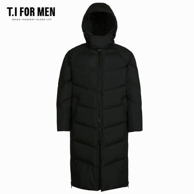 (T.I FOR MEN) 구스 롱 다운점퍼(M188MJP593M)