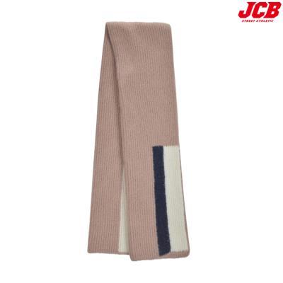 [JCB] 컬러배색니트목도리 JB1MN841_PI