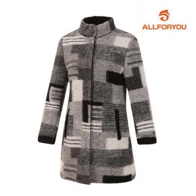 [올포유]여성 패턴 자카드 코트 AWCTG8458-190_G