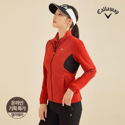 [캘러웨이]기획 여성 심플 바람막이 집업 점퍼 CWJUJ7701-500_G