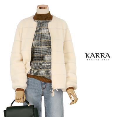 KARRA 에코퍼집업니트자켓_KL0WJK500A