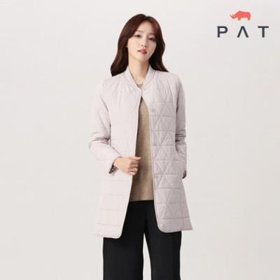 PAT 여성 북유럽 퀼팅 패딩 코트-QE81108