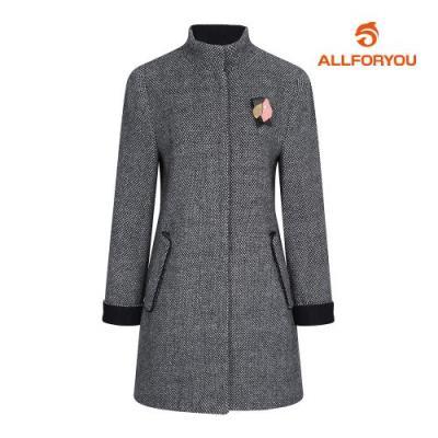 [올포유] 여성 브로치 패턴 모 코트 AWCTG8453-915_G
