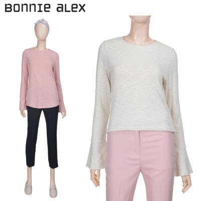 (보니알렉스) 와이드라운드 티셔츠(BATA180C)